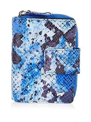 Braun Büffel Portemonnaie (Blau)