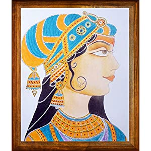 Cherish-a-Design Mughal Queen Portrait