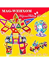 MAG-WZHXOM Magnetic Slice Multi Color - 72 Pieces
