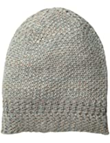 D&Y Women's Knit Beanie with Metallic Yarn
