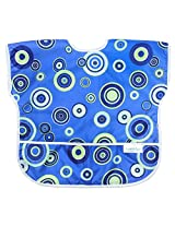 Bumkins Waterproof Junior Bib, Blue Fizz (1-3 Years)