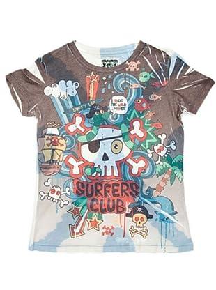 Custo Camiseta Worldty (Multicolor)