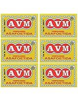 AVM Compounded Asafoetida Cake, 50 grams (Pack of 6)