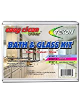 Tekon - Easy Clean Forever Bath and Glass Kit - Complete Do-It-Yourself Cleaner/Protector Sealant Treatment