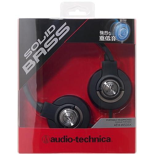 audio-technica SOLID BASS ATH-WS33X BLACKの写真03。おしゃれなヘッドホンをおすすめ-HEADMAN(ヘッドマン)-