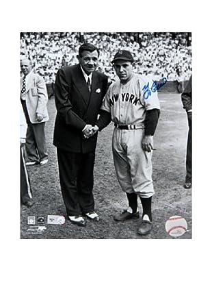 Steiner Sports Memorabilia Yogi Berra With Babe Ruth Signed Photo, 14