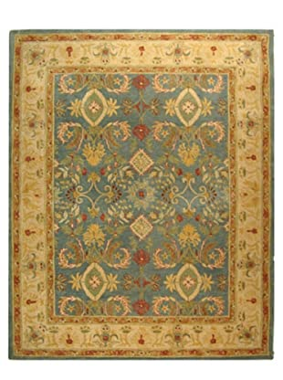 Safavieh Anatolia Collection Hand Tufted Rug (Light Blue/Ivory)