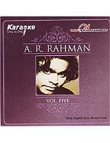 Karaoke - A.R.rahman vol5