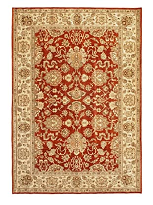 Lotus Garden Traditional Rug, Dark Copper, 6' 7