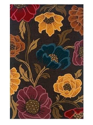 Heirloom Rugs Floral Garden Rug (Grey/Multi)
