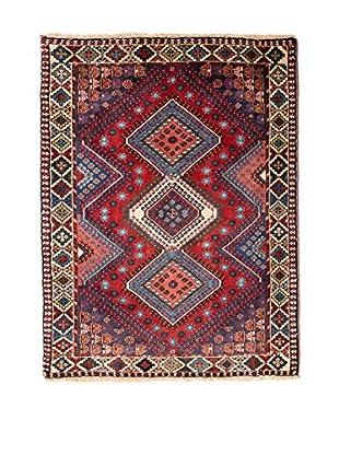 RugSense Alfombra Persian Yalameh Rojo/Azul/Multicolor 124 x 78 cm
