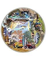 Round Table Puzzle - The Nostalgic Journey (500 Piece)