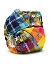 Rumparooz One Size Cloth Pocket Diaper Snap, Preppy