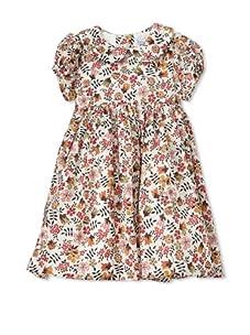 Baby CZ Girl's Cotton Rachel Dress (Liberty Edenham Berry)