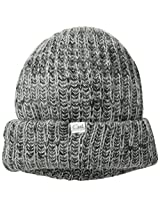Coal Women's The Coco Plush Space-Dyed Slub Beanie, Charcoal, One Size