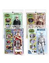 Batman 1966 Classic Tv Series 4 Action Figures : Set Of 4 Alfred Pennyworth , Bookworm, King Tut, Mr.Freeze,