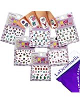 Festive & Fun 3D Nail Stickers Decals /LD2/- Easter Egg, Bunny, etc. - Pack of 6