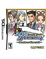 Phoenix Wright: Justice for All (Nintendo DS) (NTSC)