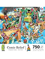 Ceaco Comic Relief Pirates of The Mississippi Jigsaw Puzzle