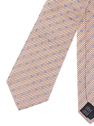 Hackett Corbata Clásica (Beige / Granate)