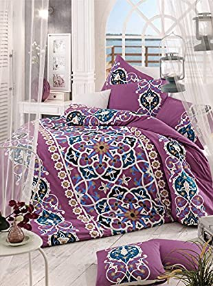 Colors Couture Bettdecke und Kissenbezug Kayra