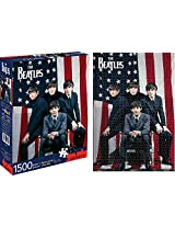Aquarius Beatles Flag Puzzle (1500 Piece)
