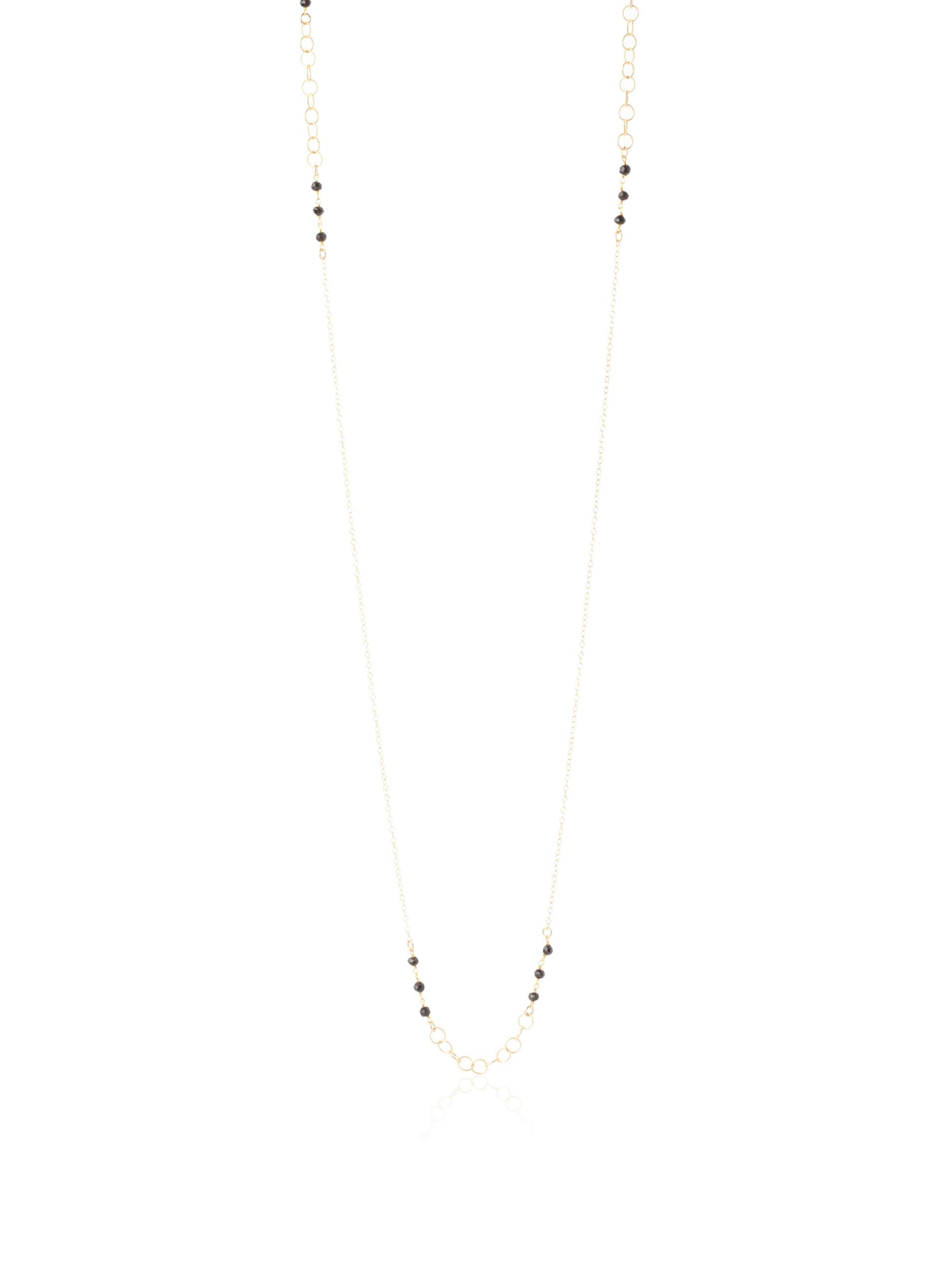 gorjana Stevenson Onyx Wrap Necklace