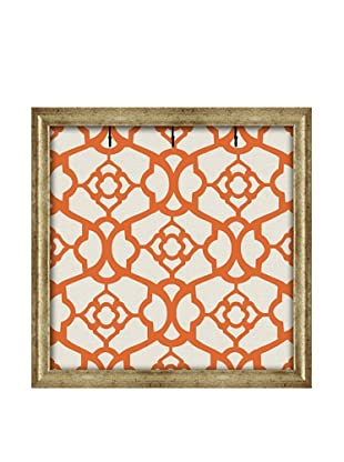 PTM Images Canvas Key/Jewelry Organizer with Foam-Core Backing, Tangerine