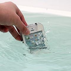 サンコ- iPhone5専用防水ケース V-Lock3 ブラック IPWP5VLK
