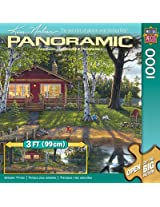 MasterPieces Artist Panoramic Simpler Times Jigsaw Puzzle, 1000-Piece