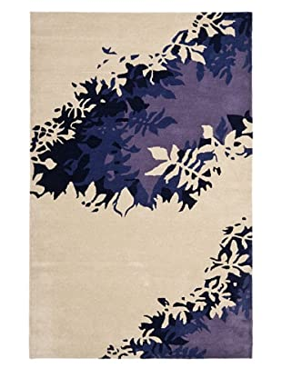 Soho Rugs Abstract (Beige/Purple)