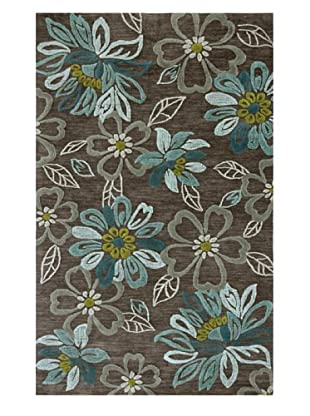 Jaipur Daisy Chain Rug (Taupe/Gray/Blue)
