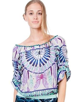 Custo Camisa Juli Juyakat (Gris Perla)
