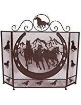 Ll Home Metal Horse Fire Screen