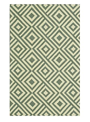 Venice Beach Indoor/Outdoor Rug (Slate/Ivory)