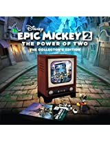 Disney Epic Mickey 2 the Power of Two (PlayStation 3 HD Only) Exclusive Collector's Edition, with Figurines & More