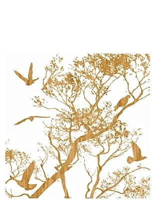 Art Addiction Woodcut Birds II 30