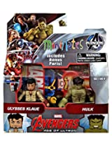 Marvel Avengers Age Of Ultron Minimates Series 63 Ulysses Klaue & Hulk 2