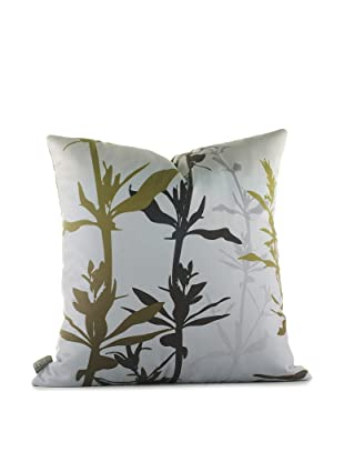 Inhabit Wildflower Pillow (Silver/Olive)