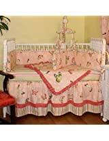 Hoohobbers 4-Piece Crib Bedding, Butterflies
