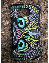 GVC 2015 SHINES IN DARK LIMITED EDITION 3D cute Cartoon Animal world OWLPhone Case Cover For Samsung Galaxy Alpha 4G LTE G850 : OWL