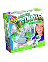 Small World Toys Nature - Inflatable Topographical Globe, 16""