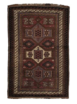 Rug Republic One Of A Kind Turkish Anatolian Hand Knotted, Multi Rug, 4' 3