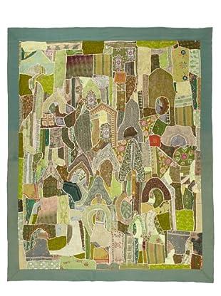 Flatweave Landscape, 6' x 9'