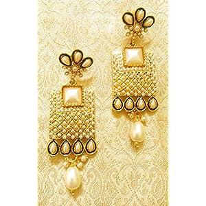 Designer Ethnic Bollywood Jewellery Polki Earrings,Wedding,Party,Gift