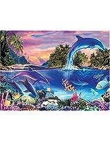 Dolphin Paradise - 1000 Pc. Glow Puzzle