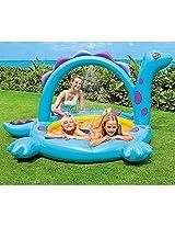 Intex 57437 Ep Dino Spray Pool With Splashin Sprayer 90