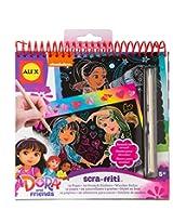 Dora and Friends Scra-ffiti Scratch Art