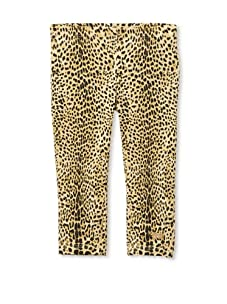 Roberto Cavalli Angels Girl's Animal Leggings (Leopard)