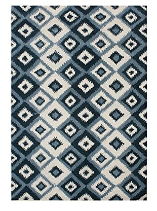 Horizon Rugs New Zealand Wool Rug (Blue Multi)